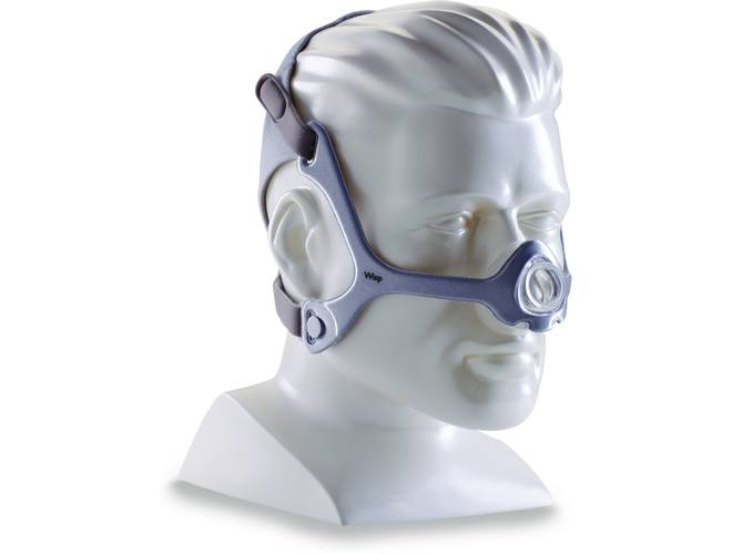 Philips Respironics Wisp CPAP Mask w/Headgear & Fabric Frame