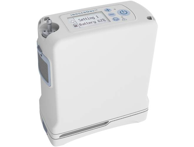One G4 Portable Oxygen Concentrator (8-Cell Double Life Battery)